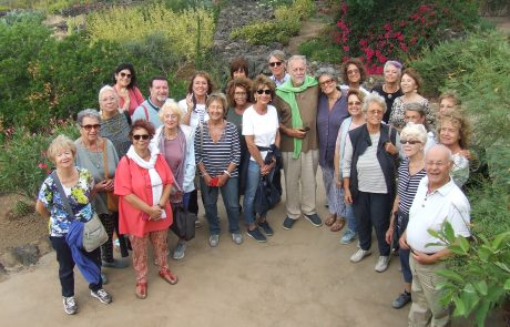 Pantelleria gruppo accolto dai duchi Savoia Aosta